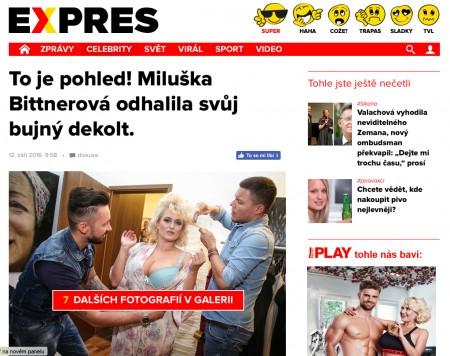 """Článek zde: <a href=""""http://www.expres.cz/miluska-bittnerova-ukazala-podprsenku-d9a-/celebrity.aspx?c=A160909_153950_dx-celebrity_ren"""">www.expres.cz/miluska-bittnerova-ukazala-podprsenku-d9a-/celebrity.aspx?c=A160909_153950_dx-celebrity_ren</a>"""